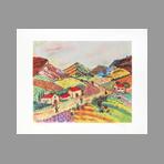 Chazaly . - Paysage de Provence