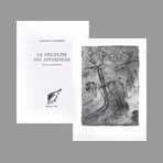 Book with etching de Humair Daniel : La discipline des apparences