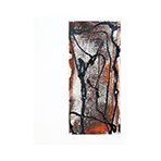 Original signed gouache de  : Invitation card Galerie Craven