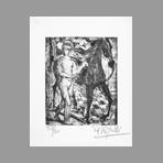 Righetti Edouard - Homme et cheval