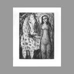 Righetti Edouard - Femme et cheval