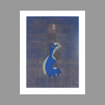 Original signed monotype de Neuhaus Ervin : The night of the lovers
