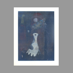 Original signed monotype de Neuhaus Ervin : Suzanne and the old men