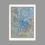 Original signed oil de Beer Franz : Composition I