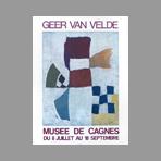 Van Velde Geer - Exposition Musée de Cagnes