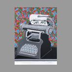 Tisserand Gérard - Titre inconnu, La machine à écrire