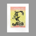 Original signed aquatint de Pozzi Giancarlo : Composition II