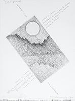 Gravure originale signée de  : Intersection