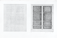 Punta seca original firmada de  : Six de carreaux