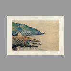 Signed single work de Loiseau Gustave : Raz Cap de la Jument