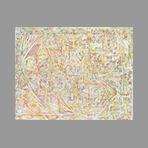 Huile originale signée de Manchester Hope : Composition I