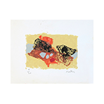 Signed greeting card de  : Greeting card 1961
