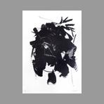 Lithographie originale signée de Miotte Jean : Composition abstraite II