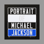 Original signed screenprint de Ducorroy Jo�l : Portrait of Michael Jackson