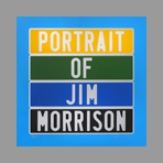Original signed screenprint de Ducorroy Jo�l : Portrait of Jim Morrison