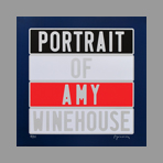 Original signed screenprint de Ducorroy Jo�l : Portrait of Amy Winehouse