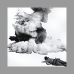 Original signed print de Baldessari John : Smoke, Tree, Shadow and Person