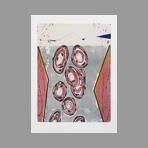Original signed lithograph de Wesel Leo : Triora