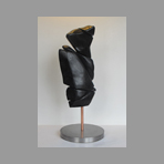 Original signed sculpture de Wesel Leo : Without title III