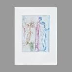 Original signed etching de Dimanov Luben : Odyssey II