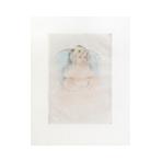 Original drypoint de Cassatt Mary : Sara Smiling