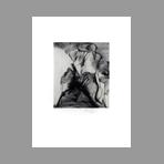 Gravure pointe-sèche signée de Vilage Michel : Teluric