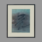 Original signed watercolour de Assar Nasser : Untitled I