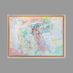Signed single work de Grigorescu Octav : Garden