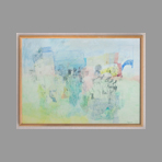 Signed single work de Grigorescu Octav : Landscape