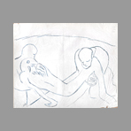 Drawing in pencil de Freundlich Otto : The Passion V
