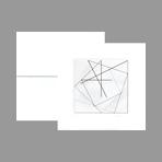 Original signed etchings de Ghilardi Paolo : Su quattro quadrati