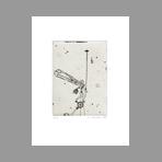 Gravure originale signée de Favier Philippe : Tant de sextant d'anges