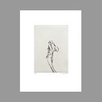 Original signed etching de Favier Philippe : Eros-Tetanos