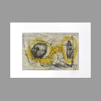 Signed etching aquatint de Chastel Roger : Still life