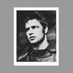Original signed screenprint de Young Russell : Marlon Brando