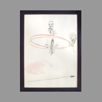 Original signed lithograph de Pasotti Silvio : Unknown title III