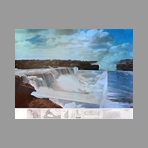 Signed print de Superstudio : The Niagara or the thoughtful architecture