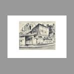Original signed lithograph de Oguiss Takanori : L'atelier de l'�b�niste