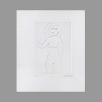 Original signed drypoint de Appleby Theodore : Nude