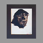 Drawing in ink de Appleby Theodore : Portrait