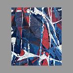Original signed oil de Appleby Theodore : Composition X