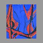 Original signed oil de Appleby Theodore : Composition XI