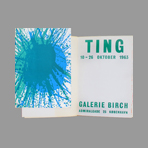 Livre avec lithographies de Ting Walasse : Catalogue Galerie Birch