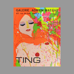 Ting Walasse - Exposition Maeght 74