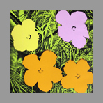 Screenprint de Warhol Andy : Flowers I, Sunday B. Morning
