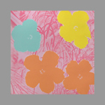 Screenprint de Warhol Andy : Flowers IV, Sunday B. Morning