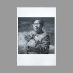 Original signed lithograph de Pei-Ming Yan : Mao