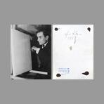 Original signed photograph de Klein Yves : Milan, 1958
