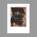 Original signed etching de Bitran Albert : Inside - Outside