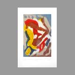 Gravure carborundum signée de Arlandis Antoine : R.M. Rilke Portrait intime 38